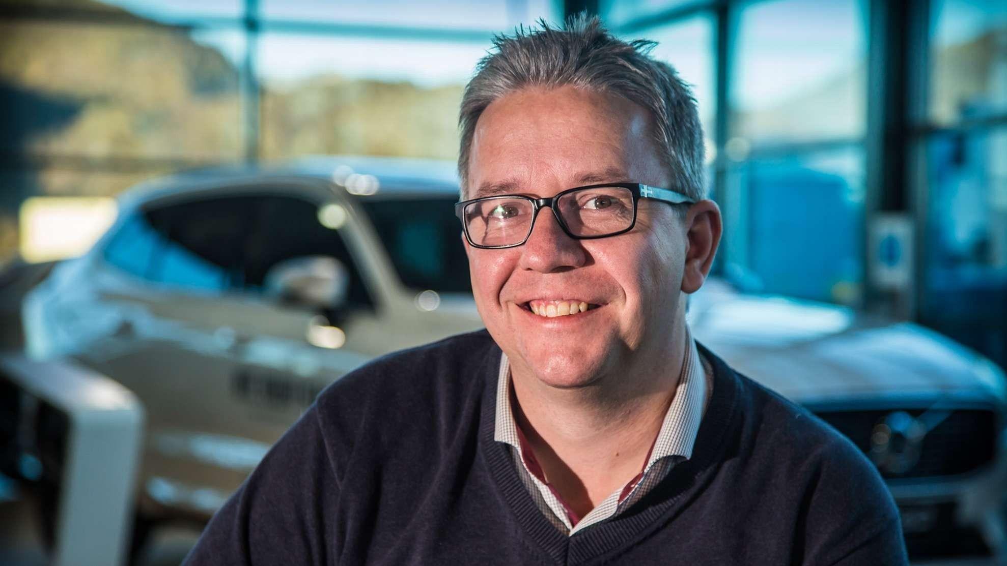 Viggo Henningsen, salgssjef Bil i Nord Svolvær.